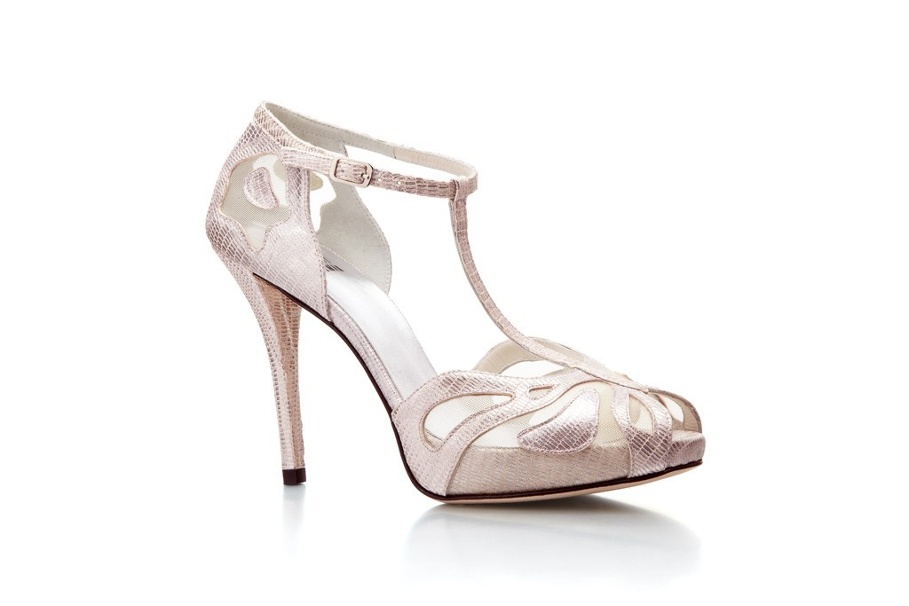 stuart weitzman elegant wedding shoes