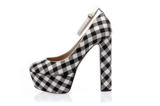 houndstooth wedding shoes