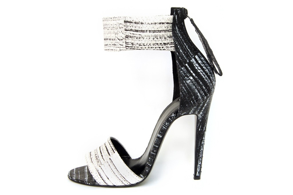 pierre hardy wedding shoes black and white 2