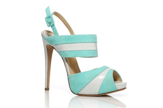 something blue wedding shoes aqua teal 2
