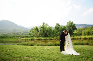 photo of Charming Outdoor Wedding in North Carolina