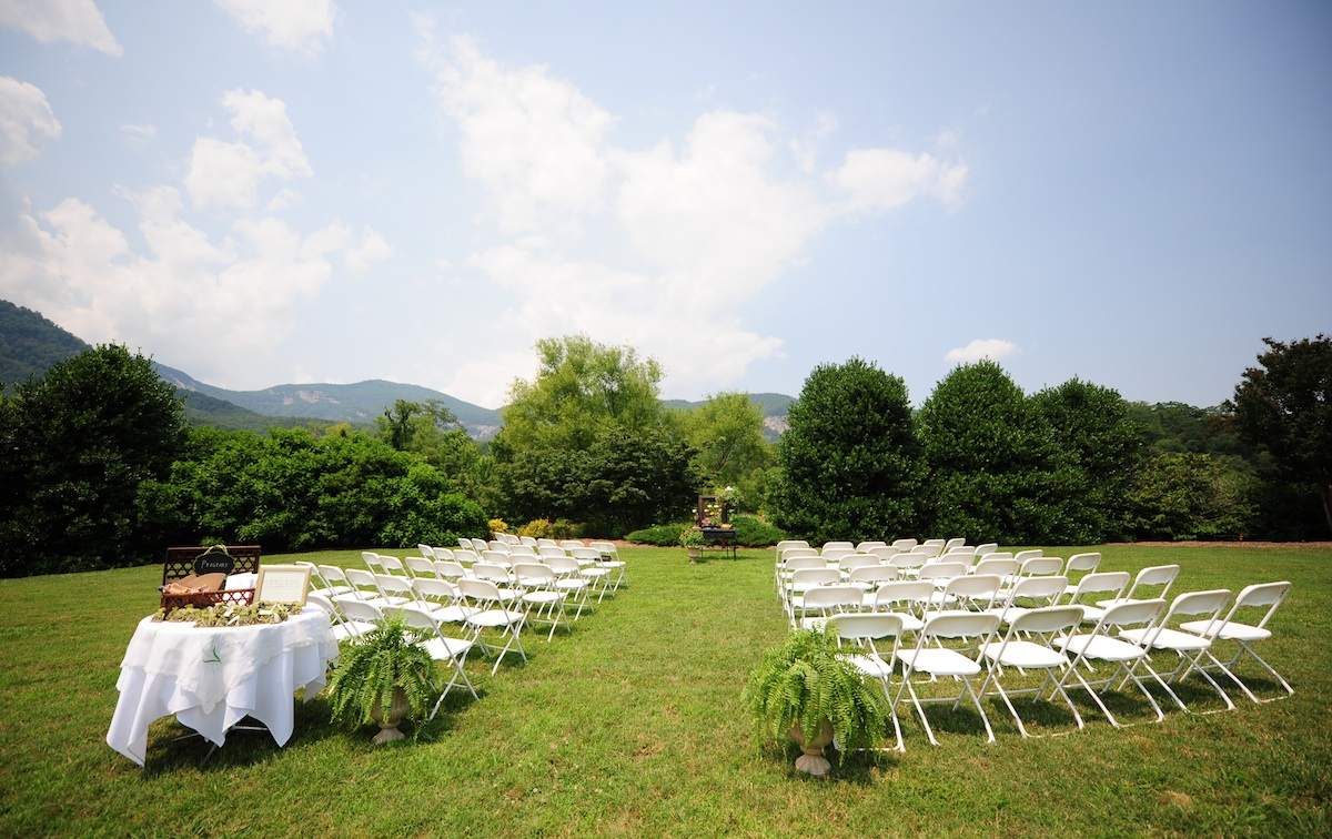Inspiration Outoor Ceremonies: Real Wedding Photography Planning Inspiration Simple