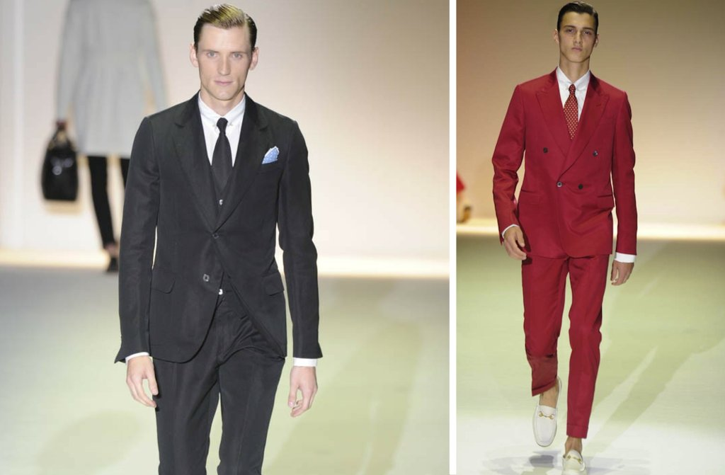 grooms style inspiration 2012 weddings Gucci red black