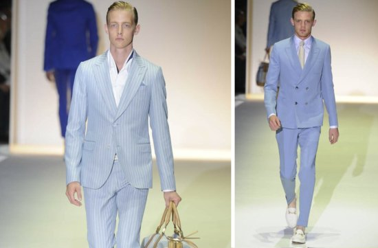 grooms style inspiration 2012 weddings Gucci light blue