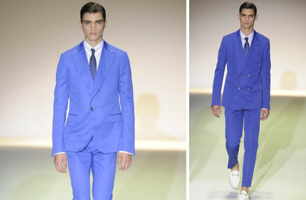 grooms style inspiration 2012 weddings Gucci orange periwinkle blue
