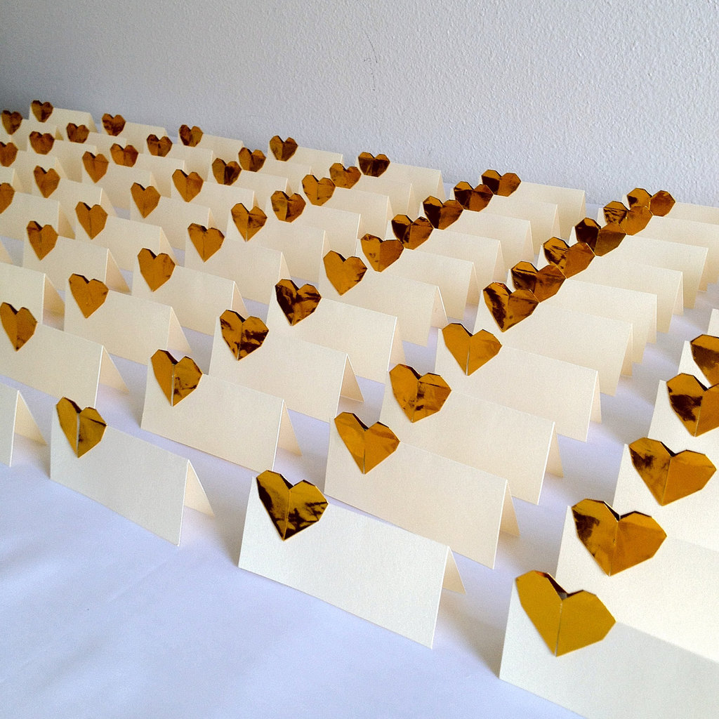 Gold animal wedding escort card holders junglespirit Gallery
