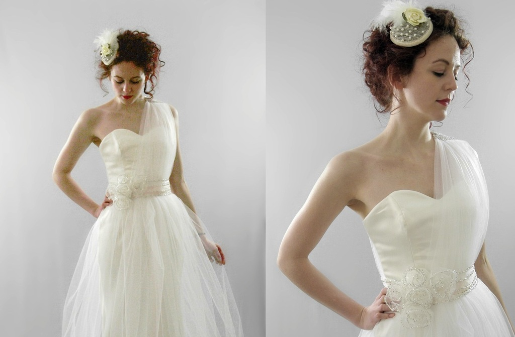 Classic-wedding-dress-with-one-sheer-shoulder.full