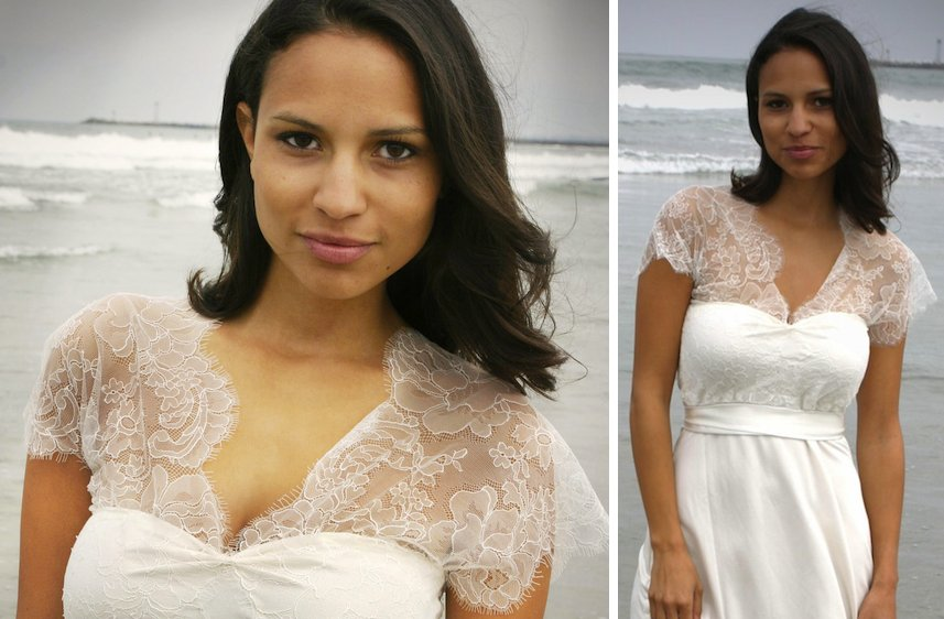 Romantic-wedding-ideas-barely-there-sheer-bridal-gown-beach-wedding.full