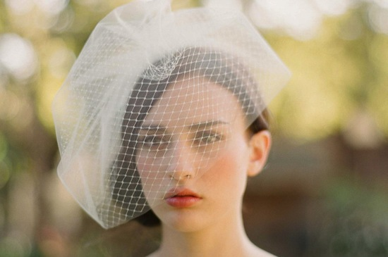 photo of Photo by Elizabeth Messina, Twigs & Honey bridal veil