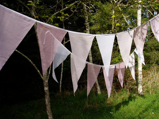 etsy wedding ideas sheer bunting for outdoor weddings
