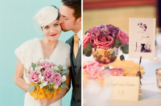 romantic roses wedding flower inspiration bridal bouquet centerpieces