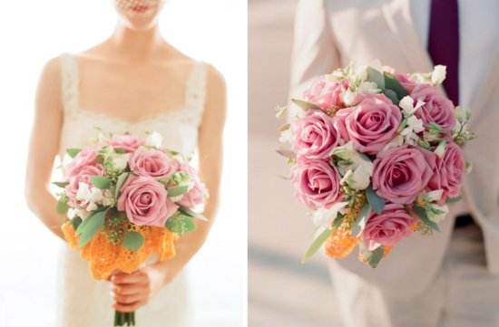 romantic roses wedding flower inspiration bridal bouquet 1