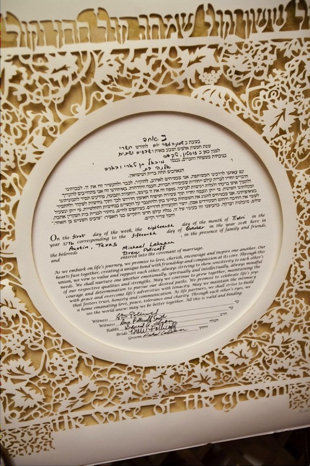 interfaith wedding ideas Ketubah