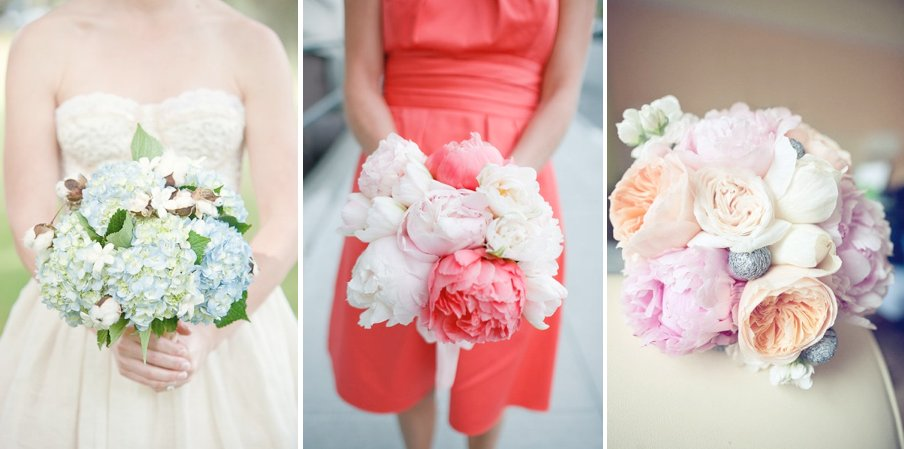 Anthropologie Weddings Vintage Bridal Style Bouquets Wedding Flowers