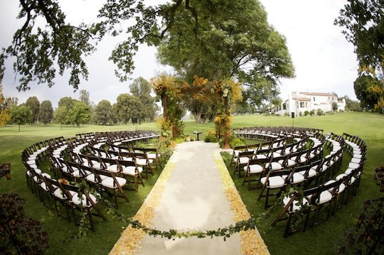 outdoor wedding ceremony ideas Next Big Bridal Blogger finalist 1