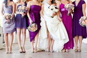 photo of well dressed for bridesmaid wedding fashion guide 10