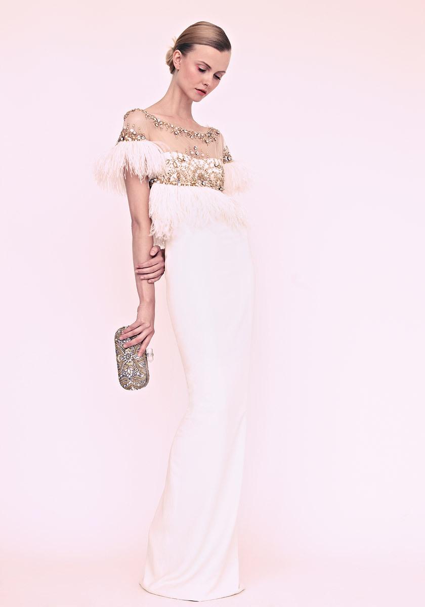 7036830d950ffc marchesa wedding dress vintage romantic beading feathers