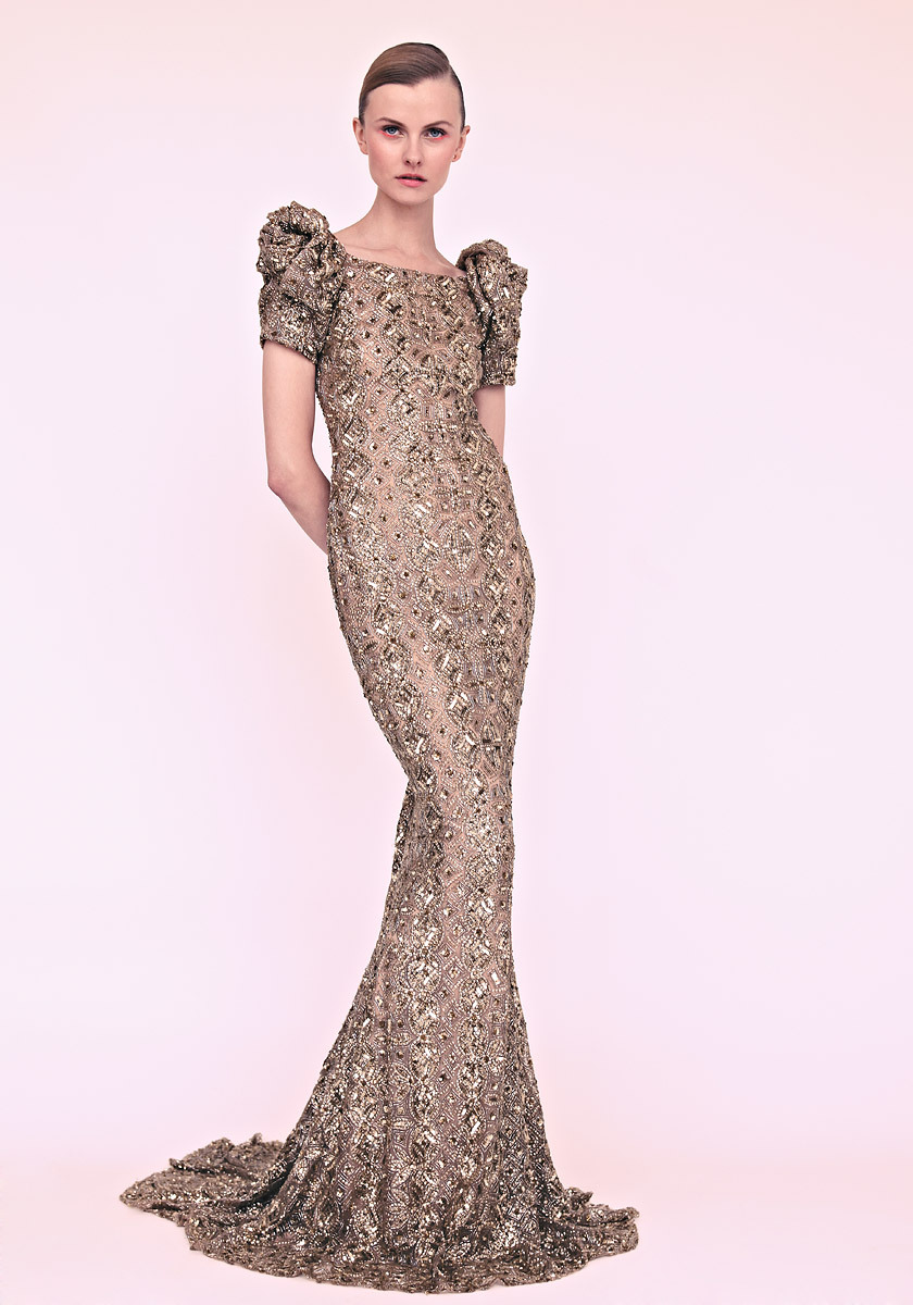 Marchesa-wedding-dress-gold-gown-with-pouf-sleeves.full