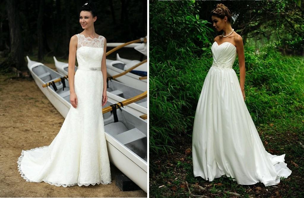 White Linen Dress For Beach Wedding | Wedding Dress