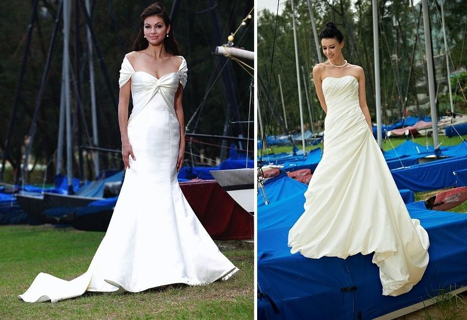Beach bride wedding dresses augusta jones bridal gowns for Wedding dresses in augusta ga
