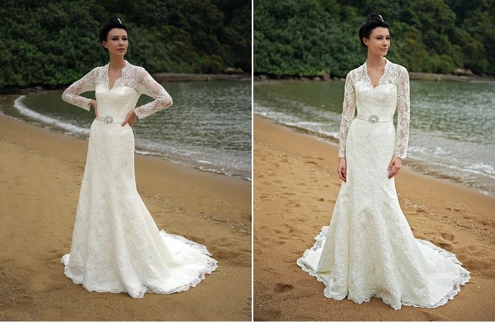 Beach bride wedding dresses augusta jones bridal gowns lace 1 for Wedding dresses in augusta ga