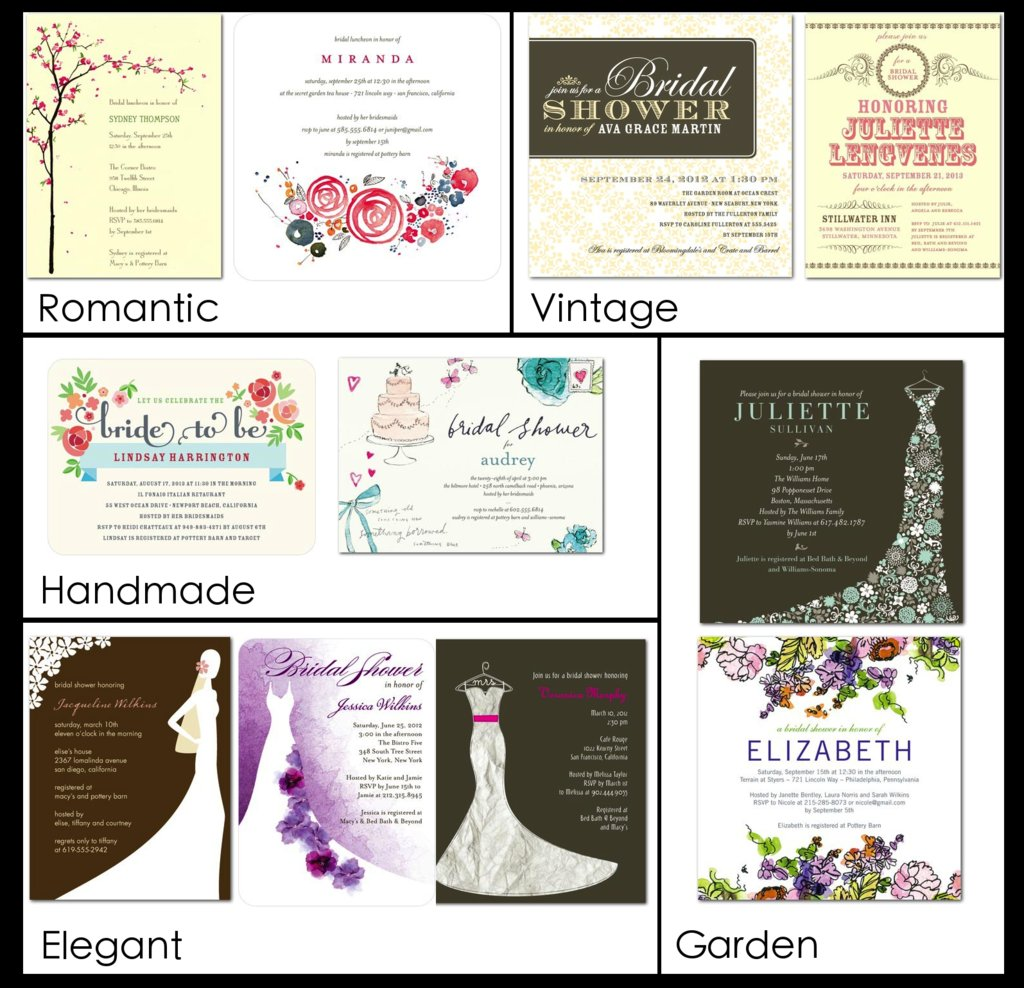 bridal shower invitations for every style vintage garden handmade elegant