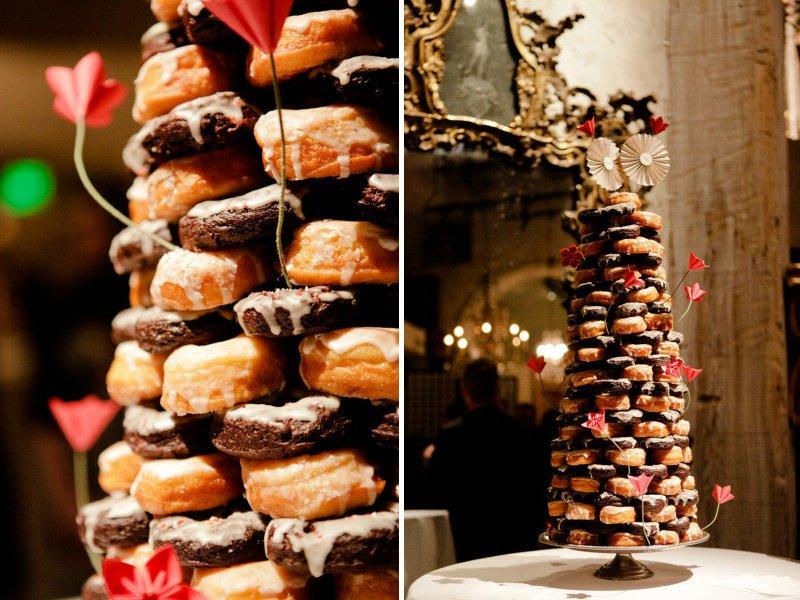 Unique Wedding Cakes Non Cake Reception Desserts Donuts