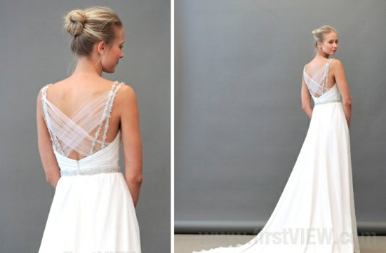 photo of 2013 Wedding Dresses with Stunning Statement Backs