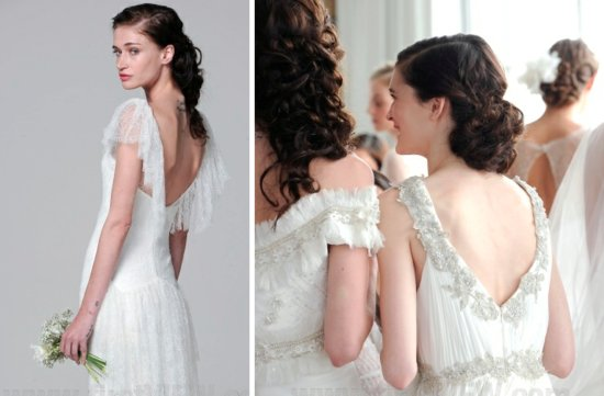 Marchesa 2013 wedding dress statement back bridal gowns 4