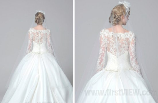 Marchesa 2013 wedding dress statement back bridal gowns 3