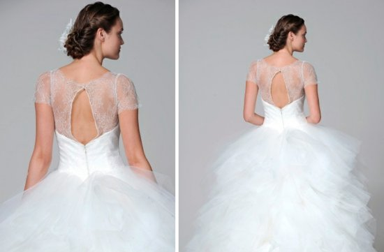 Marchesa 2013 wedding dress statement back bridal gowns 2