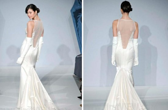mark zunino 2013 wedding dress statement back bridal gowns 2