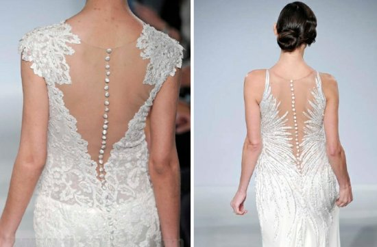 mark zunino 2013 wedding dress statement back bridal gowns 1