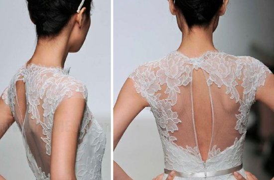 christos 2013 wedding dress statement back bridal gowns 1