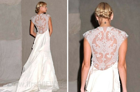 lela rose 2013 wedding dress statement back bridal gowns 1