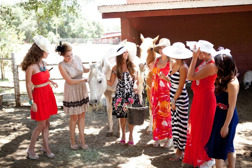 Rustic-kentucky-derby-bridal-shower-theme-mix-n-match-bridesmaids.full