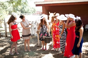 photo of Hats & Horses, a Winning Bridal Shower Theme