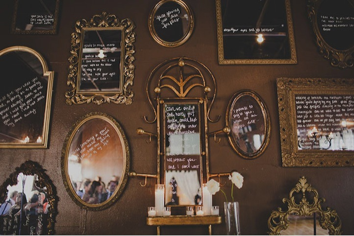 Elegant-rustic-wedding-framed-mirrors-with-sweet-messages.full