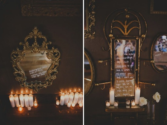 photo of Mirror Mirror on the Wall... Make My Wedding Sparkliest of All