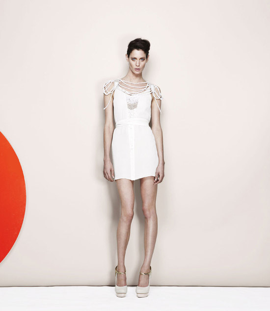 photo of sass and bide wedding style lookbook bridal separates 3