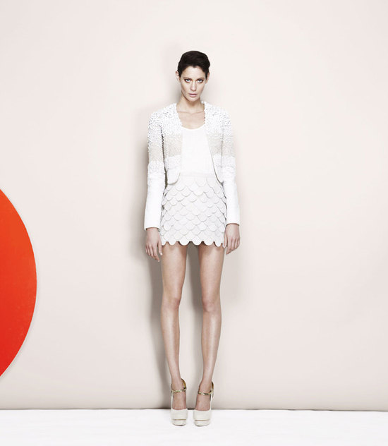 photo of sass and bide wedding style lookbook bridal separates 1