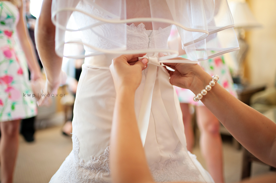 elegant southern wedding summer 2012 wedding dress getting ready