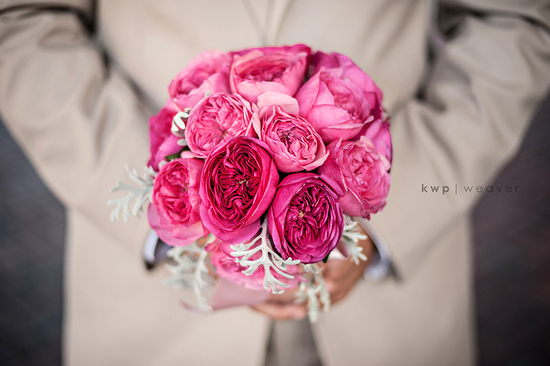 elegant southern wedding summer 2012 groom with brides bouquet