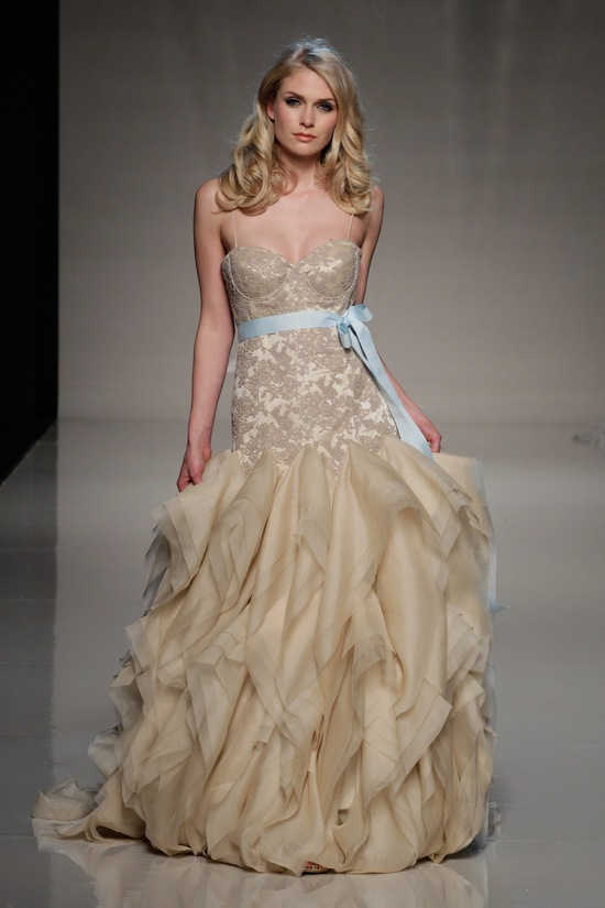 photo of london 2013 wedding dress international bridal gowns elizabeth stuart 3