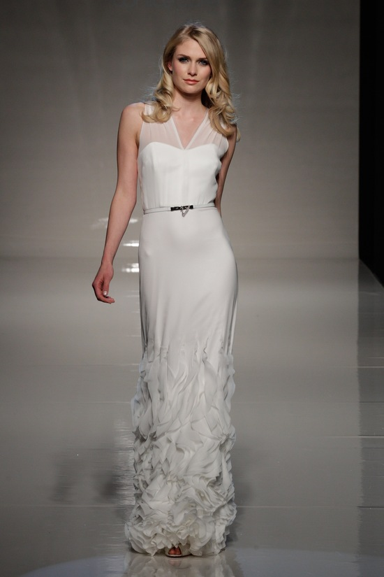 london 2013 wedding dress international bridal gowns sanjuka Kiuso 1