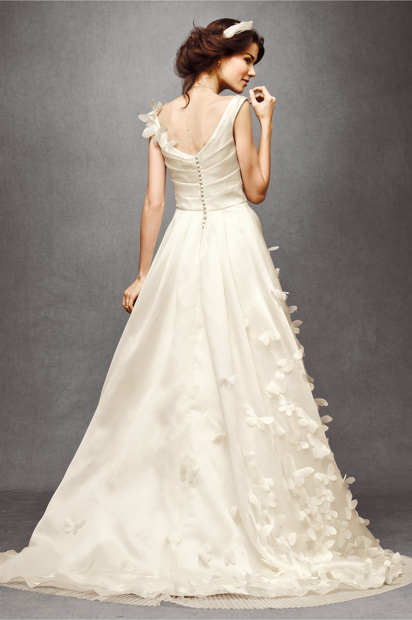 Ethereal monarch gown onewedcom for Ethereal wedding dress