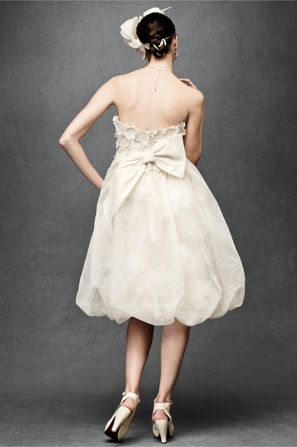 Floral-artwork-wedding-dress-2011-bhldn-knee-length-strapless-back.full