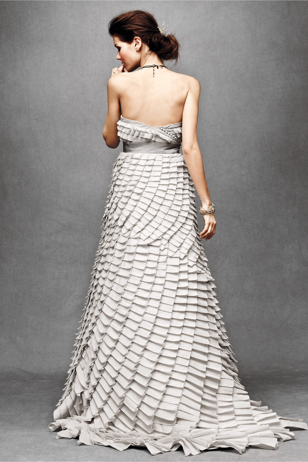 Pleated-fantasy-wedding-dress-strapless-a-line-dove-grey-pleats-bhldn-2011-back.full