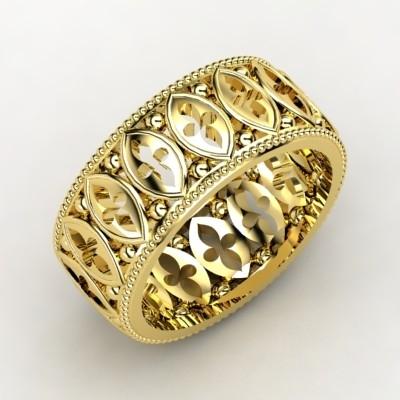 Mens-wedding-bands-yellow-gold-ornate.full