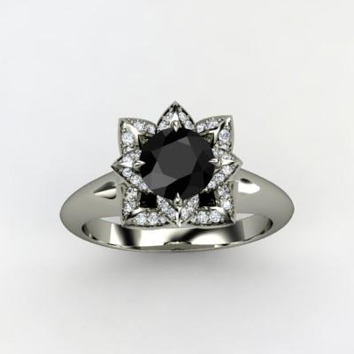 Lotus-engagement-ring-black-diamond-white-gold-3.full